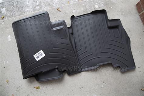 Weathertech Floor Liner Vs Floor Mat by Weathertech Floor Mats Vs Husky Liner Floor Mats Headlight Reviews