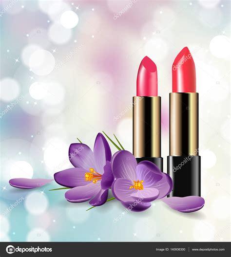 imagenes gratis belleza l 225 piz labial rojo y rosa sobre fondo borroso con destellos