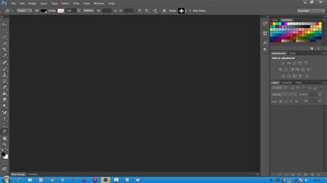 tutorial photoshop membuat logo photoshop tutorial membuat logo sederhana