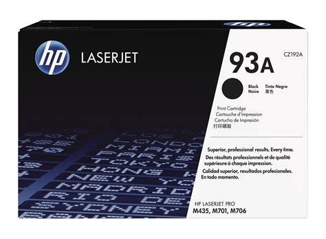 hp 93a black original laserjet toner cartridge hp store singapore