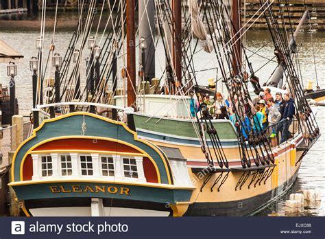 party boat boston boston tea party and ships museum stock photos boston
