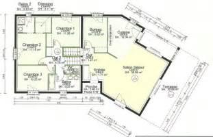 nos plans maison demi sous sol demi niveau 115m2 51