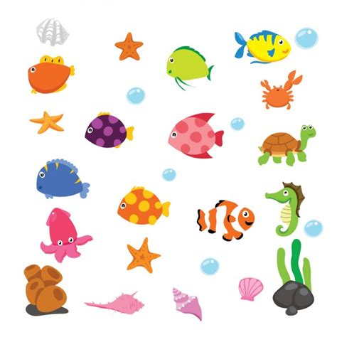 cartoon unterwasser tiere download der kostenlosen vektor
