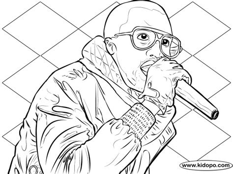 Kaney West Free Coloring Pages West Coloring Pages