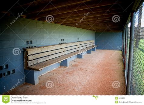 dugout bench plans dugout empty stock image image of empty vacant wood
