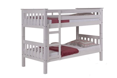 clearance bunk beds barcelona bunk bed 3ft whitewash clearance