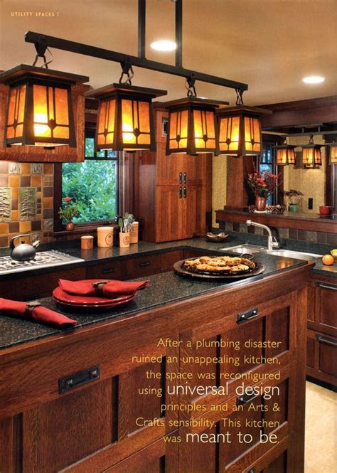 Mission Style Kitchen Lighting 25 Great Ideas About Craftsman Style Kitchens On