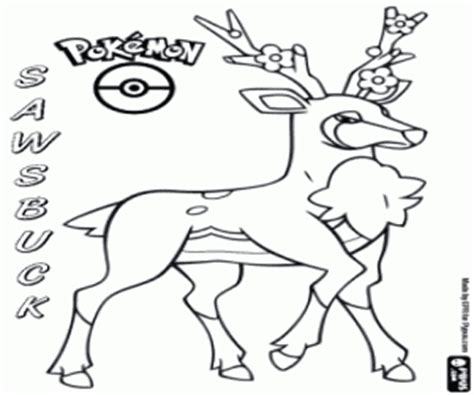 pokemon coloring pages deer pok 233 mon black and white coloring pages printable games