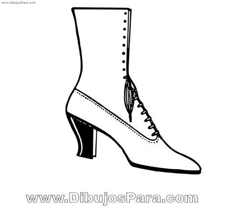 imagenes para colorear botas navideñas dibujo de bota de mujer para colorear para pintar