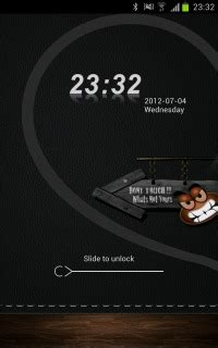 clock themes for android phones download dont touch phone lock clock android theme htc