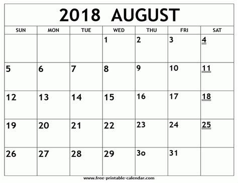printable calendar august 2018 printable calendar august 2018 journalingsage com