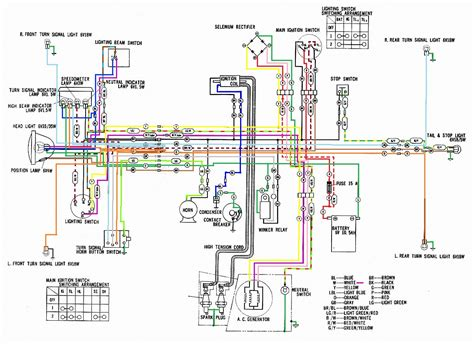 1974 honda cl 175 wiring diagrams repair wiring scheme
