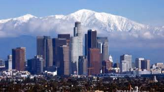 week starts with record low temperature for downtown la