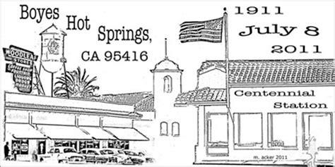 post office boyes hot springs ca postmark boyes hot springs sonoma sun sonoma ca