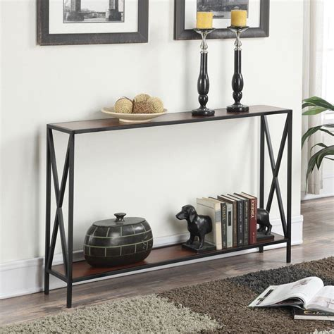 slim console table with storage slim console table narrow shelf storage sofa accent