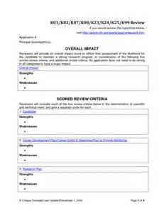 Article Review Template by Best Photos Of Article Critique Templates Research