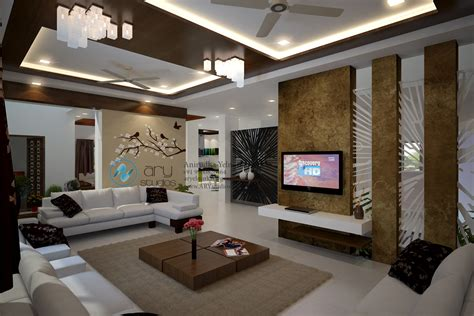 view interior of homes 3d modern hall rendering interior view bed kerala ary
