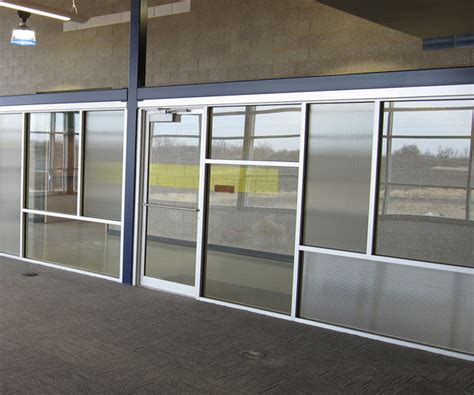 commercial interior windows kansas city commercial glass gallery precision glass