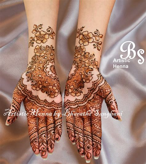mehandi pic mehandi designs by bharathi 03 indian makeup and beauty