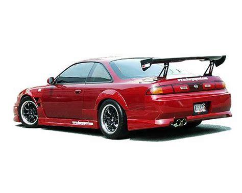 98 nissan 240sx chargespeed rear bumper nissan 240sx s14 95 98