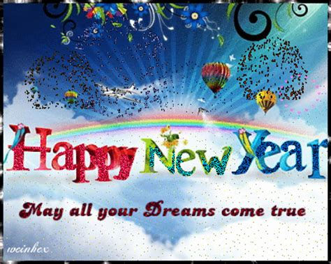new year true meaning may all your dreams come true picture 119809885 blingee