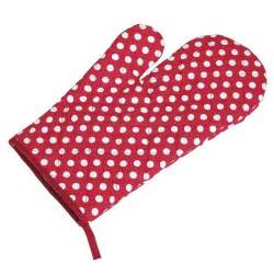 Cupcake Design Kitchen Accessories red retrospot oven glove dotcomgiftshop