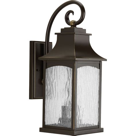 progress lighting outdoor wall sconce progress lighting p5754 108 maison rubbed bronze two