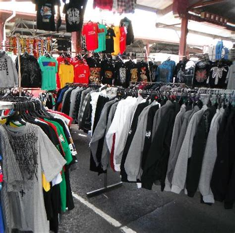 In The Fashion Marketplace by Clothing Stall Picture Of Market