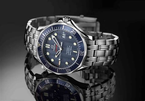 bond and the omega seamaster diver 300m