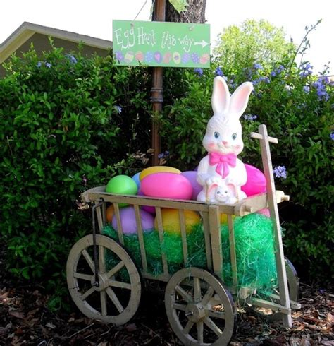 40 Outdoor Easter Decorations Ideas 40 Outdoor Easter Decorations Ideas To Make