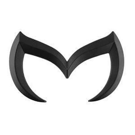 mazda 3 black emblem mazda 3 emblem ebay