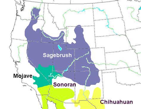 america map deserts american deserts