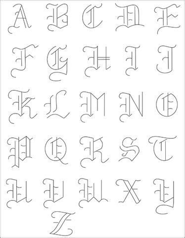 tattoo fonts pack small pack embroidery patterns olde alphabet