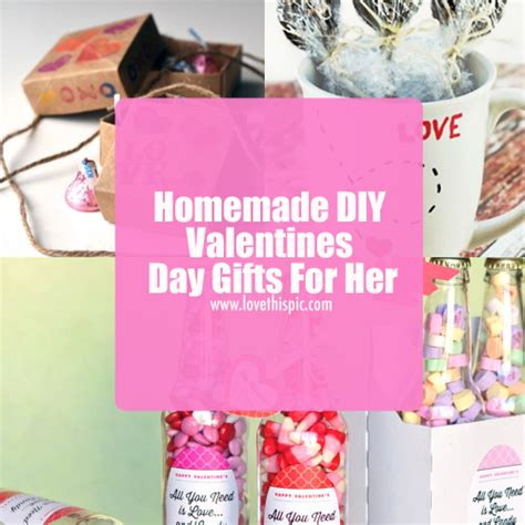 diy valentine s day gifts for her homemade diy valentines day gifts for her