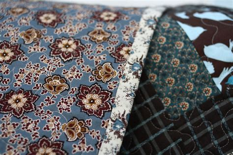 Brown Blue Quilt by Brown Blue Quilt