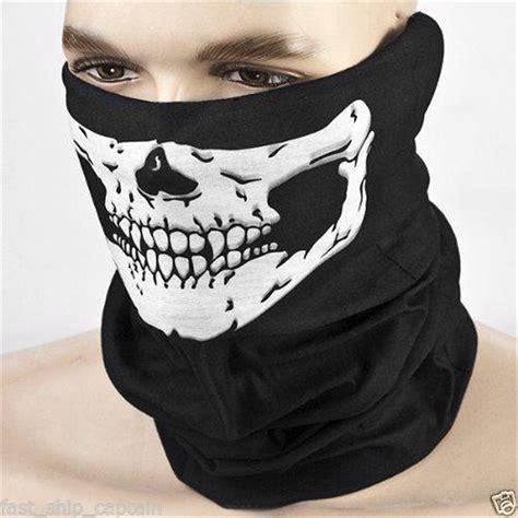 Skull Bandana Cycling Mask skull bandana motorcycle skeleton scarf mask