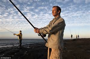 robson green fishing challenge robson green s divorces page three model vanya seager in