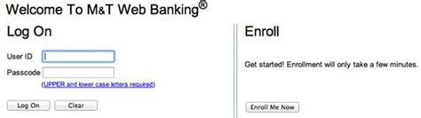 m t bank my mortgage m t banking on www onlinebanking mandtbank