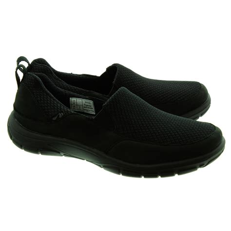 in shoes strive footwear florida slip on shoes in black in black