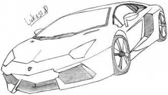 Easy To Draw Lamborghini How To Draw Lamborghini Aventador