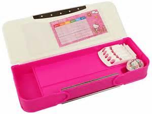 buy kitty pink pencil box india price