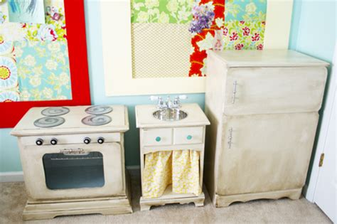 Handmade Play Kitchen - a made play kitchen the handmade home