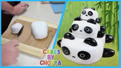 panda cake template panda cake stackable how to
