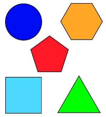 2d printable coloured shapes 17 best images about 2d shape resources special needs on