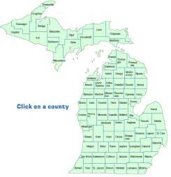 County Map Of Michigan by Deq Local Contacts Recycling Amp Household Hazardous Waste
