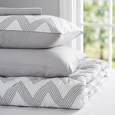 light gray comforter zig zag stripe value comforter set light gray pbteen