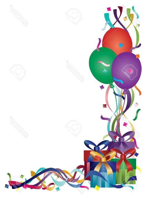 happy birthday corner design stars clip art images free high quality clipart male