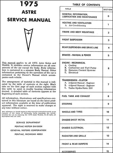 service manual repair voice data communications 1982 pontiac grand prix instrument cluster