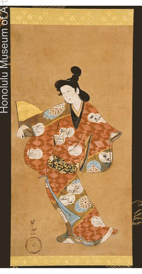Ukiyo E And Genre Painting Section Menu Edo Period