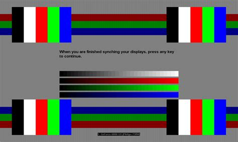 test pattern lcd driver menu continued nvidia s latest drivers the 90